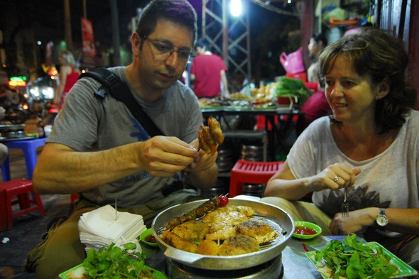 Hanoi local food tour
