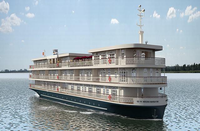 RV Mekong Navigator Cruise